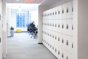 Lockers for secure items
