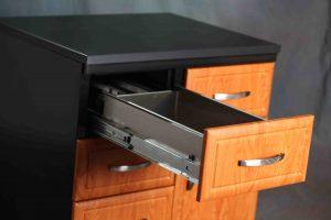 Drawer in Modular Casework Cabinet