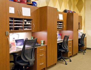Modular Casework in athletic facilities