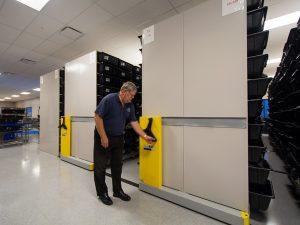 Auto parts storage system