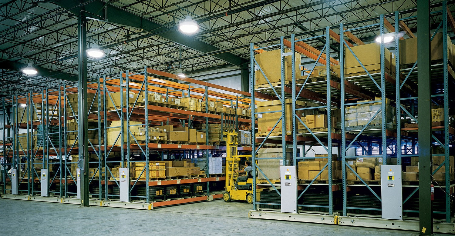 Industrial Shelving Moves on Up
