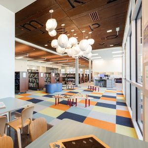 High-density storage creates room for activity spaces in libraries