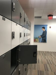 Day-use Lockers with Metal Doors and Locks