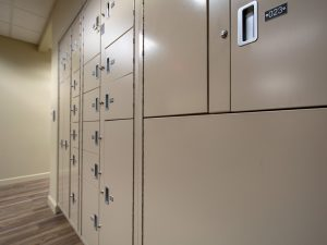 Chain of Custody protected by evidence storage lockers