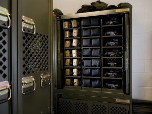 Optics Cabinets for Military Bases