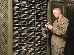 Military Optics Storage Cabinets