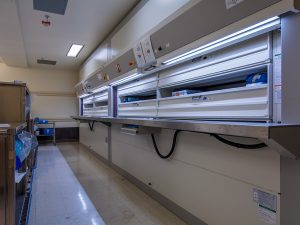 Sterile Supplies stored in Hanel Vertical Carousel Unit on Air Force Base