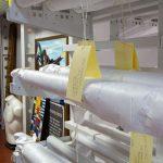 Cantilever textile rack