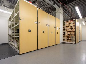 Save precinct space with compact evidence storage systems
