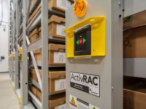 ActivRAC Compact Shelving for Evidence Storage