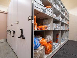Gain back valuable floor space with compact museum and gallery storage