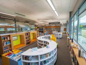 Library Shelving Design