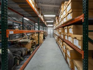 Industrial Shelving for Public Safety Departments Storing Long-Term Evidence