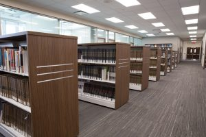 Library carts make it easy to rearrange space