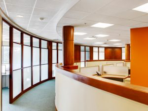 Mobile Walls provide sound proofing and privacy in healthcare environments