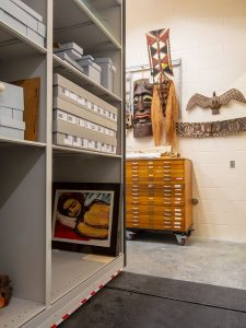 Mobile Shelving for Visual Arts Storage