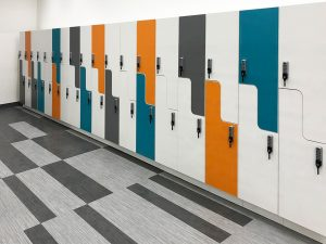 Day-Use Lockers in Corporate Settings Protect Employees Personal Belongings