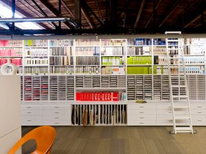 Office Organization using Modular Casework and Shelving