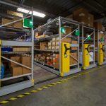 County facilities department gains space with heavy-duty mobile shelving