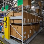 Quick access to supplies for facilities workers