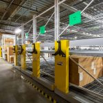 Facilities department uses high-density shelving to increase efficiency