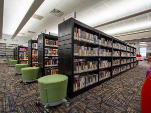 Modernizing the Library with new Shelving