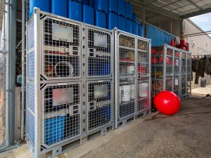 Rust Resistant DIve School Storage Lockers