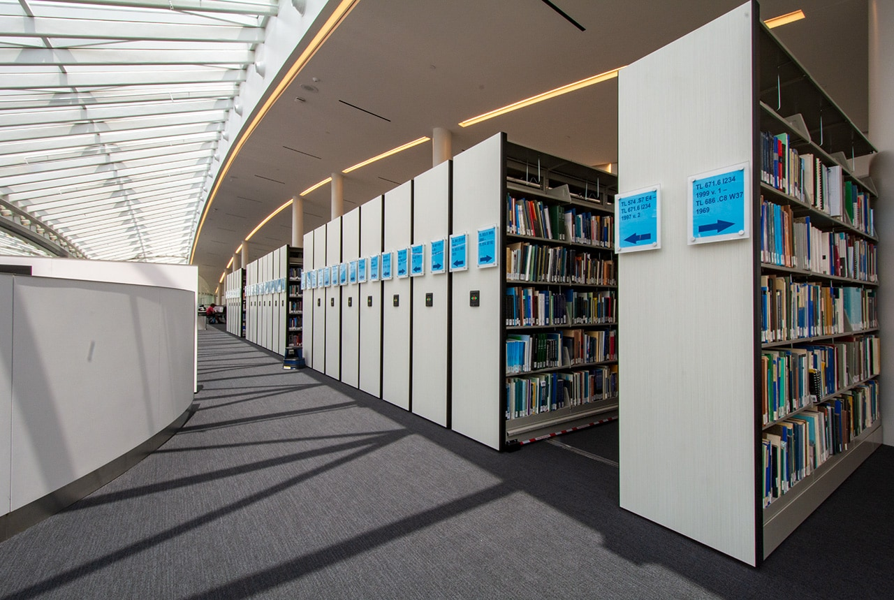 Art Storage at UCF Art Gallery