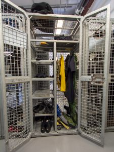 Rust Proof Lockers Provide Secure Dive School Storage