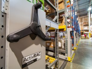 ActivRAC Mobile Storage Shelving Boosts Productivity