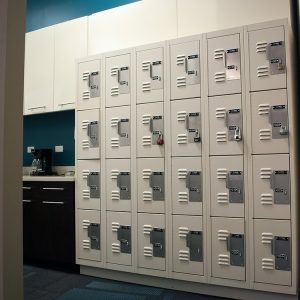 Break Room Storage Lockers for Employees