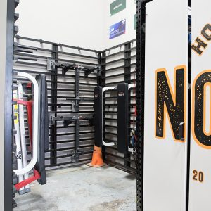 Get Organizes with Gym Equipment Storage