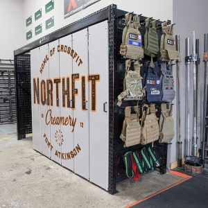 LIFT Compact Gym Equipment Storage