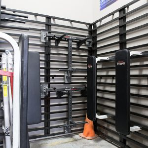 LIFT Wall Rack for Boxes and Gyms