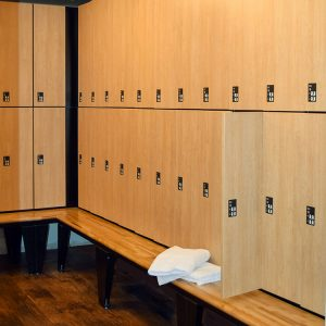 Day-Use Lockers for Locker Room Storage
