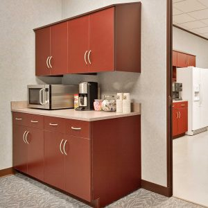 Small Breakroom Storage Ideas for Offices