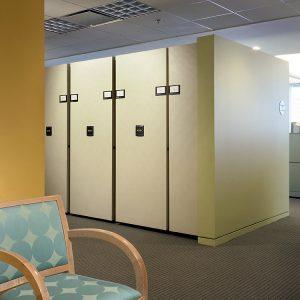 High-Density Storage Shelving for Office Storage