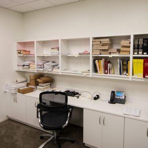 Modular Casework Laminate Cabinets and Storage