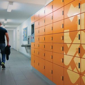 Package Asset Delivery Lockers for Apartment Buildings