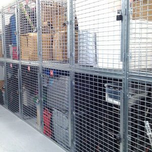 Residential Locker and Wire Cage Storage