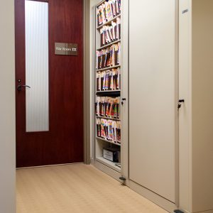 Rotary File Storage Cabinets for Offices