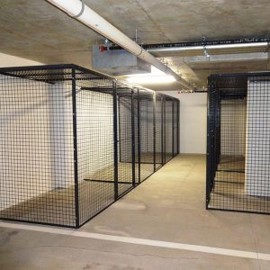 Tenant Storage Cages for Apartment Buildings
