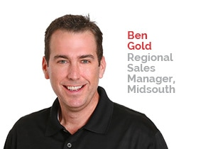 Ben Gold, Regional Sales Manager, Midsouth | Patterson Pope