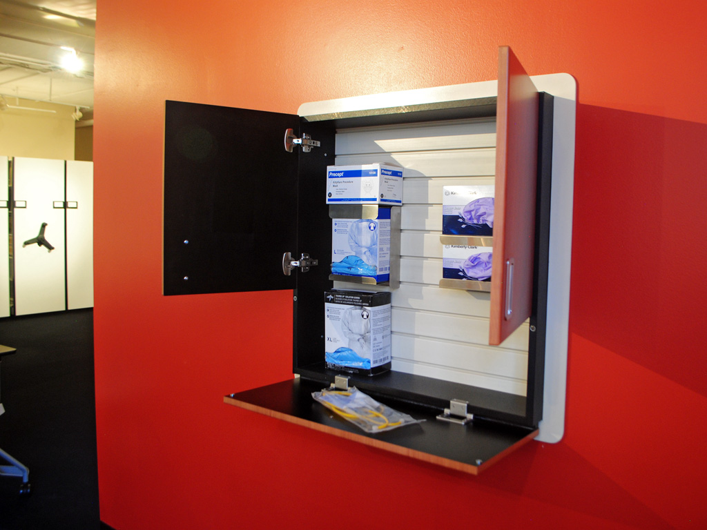 Healthcare Isolation Station PPE Storage