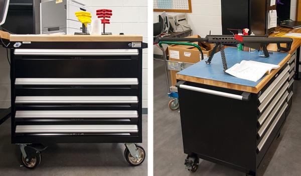 Military Storage Carts