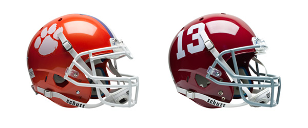 Clemson and Alabama