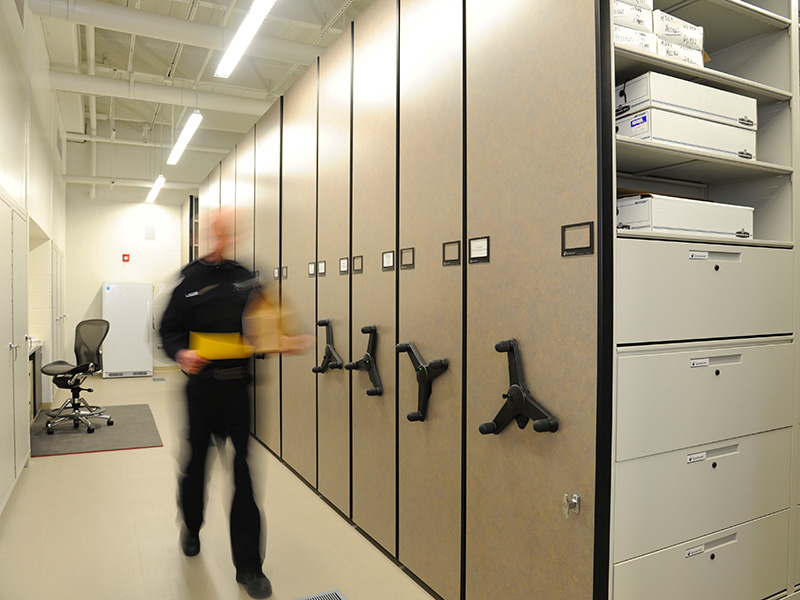 Evidence Storage for Law Enforcement